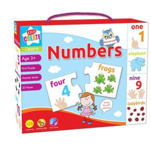 Learn the Numbers - Educational First Puzzle