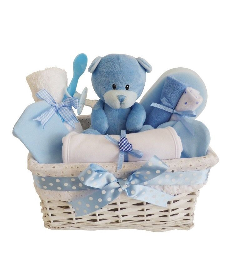 Baby Boy Gifts Hampers : Baby gift boy s first hamper wrap your love