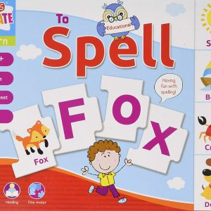 Learn to Spell - Educational First Puzzle