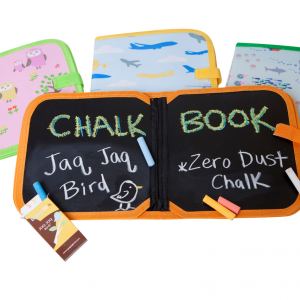 Jaq Jaq Bird - Doodle It and Go Chalk Book