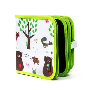 Jaq Jaq Bird - Doodle It and Go Chalk Book Woodland