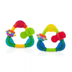 Nuby Spin N' Teethe Teether - Wrap Your Love