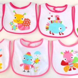 7 Day Bibs for Girls