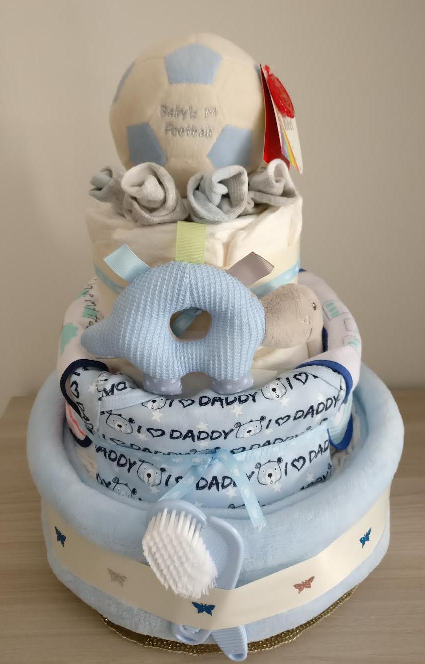 Diaper Cake Handmade Baby Gift Wrap Your Love