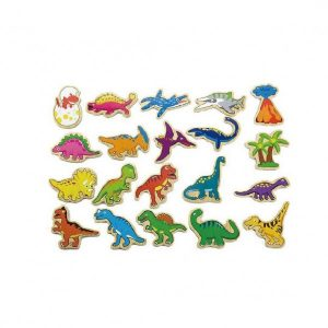 20 PIECE MAGNETIC DINOSAUR SET 2