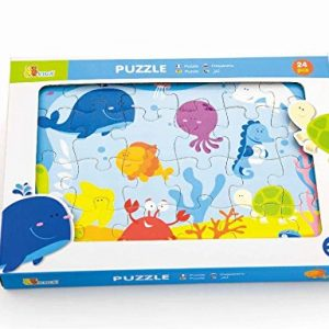 24 Piece Under the Sea Puzzle Packaging