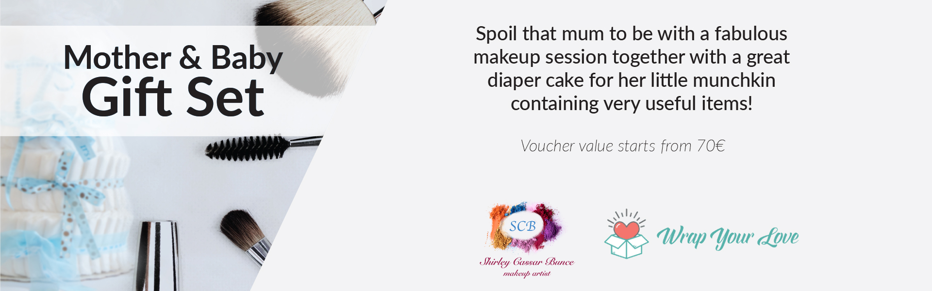 Mum and Baby Gift Set by Wrap Your Love 1920x600