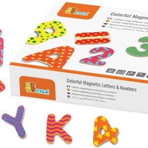 Viga Toys - 59429 - Magnetic Letters & Numbers 77 pcs. 1