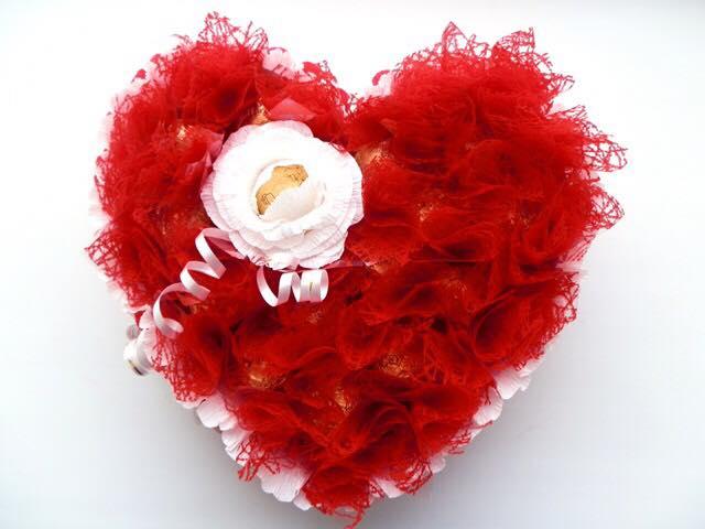 Valentines Day Flower Bouquet